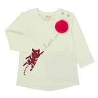 Textil Rapariga T-shirt mangas compridas Catimini CR10063-11 Rosa