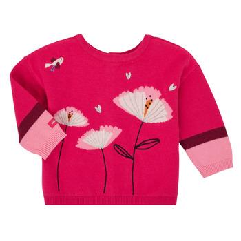 Textil Rapariga Casacos de malha Catimini CR18033-35 Rosa