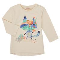 Textil Rapariga T-shirt mangas compridas Catimini CR10053-12 Branco