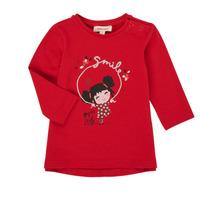 Textil Rapariga T-shirt mangas compridas Catimini CR10043-38 Vermelho