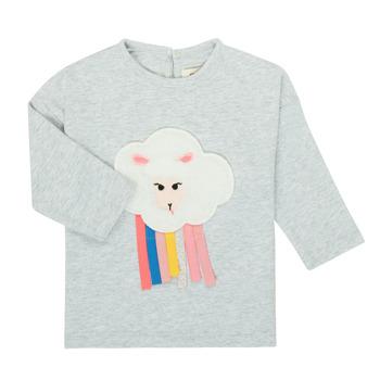 Textil Rapariga T-shirt mangas compridas Catimini CR10093-21 Cinza