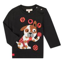Textil Rapaz T-shirt mangas compridas Catimini CR10022-02 Preto
