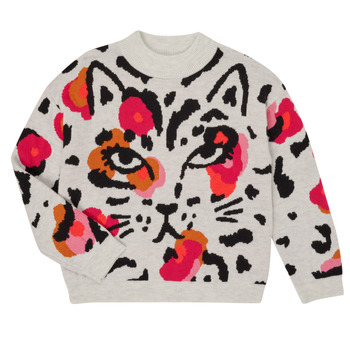 Textil Rapariga camisolas Catimini CR18035-11 Multicolor