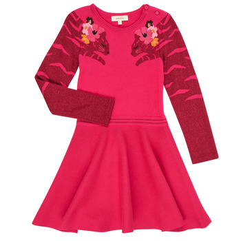Textil Rapariga Vestidos curtos Catimini CR30085-35 Rosa