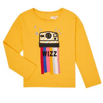 Textil Rapariga T-shirt mangas compridas Catimini CR10135-72-C Amarelo