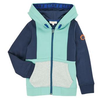 Textil Rapaz Casacos de malha Catimini CR17044-51-C Azul