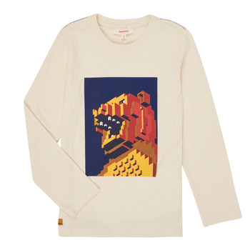 Textil Rapaz T-shirt mangas compridas Catimini CR10064-17-C Branco