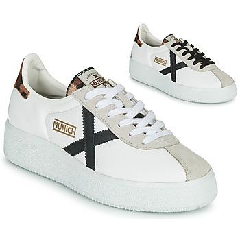 Sapatos Mulher Sapatilhas Munich BARRU SKY Branco