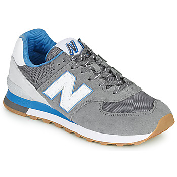 Sapatos Homem Sapatilhas New Balance 574 Cinza / Azul
