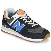 Sapatos Homem Sapatilhas New Balance 574 Preto / Azul