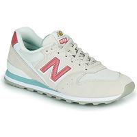 Sapatos Mulher Sapatilhas New Balance 996 Bege / Rosa