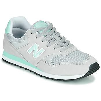 Sapatos Mulher Sapatilhas New Balance 393 Cinza