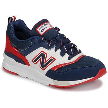 Sapatos Rapaz Sapatilhas New Balance 997 Azul / Branco / Vermelho