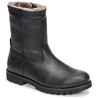 Sapatos Homem Botas baixas Panama Jack FEDRO Preto