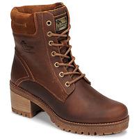 Sapatos Mulher Botas baixas Panama Jack PHOEBE Castanho