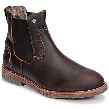Sapatos Homem Botas baixas Panama Jack GARNOCK Castanho