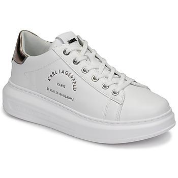 Sapatos Mulher Sapatilhas Karl Lagerfeld KAPRI Maison Karl Lace Branco