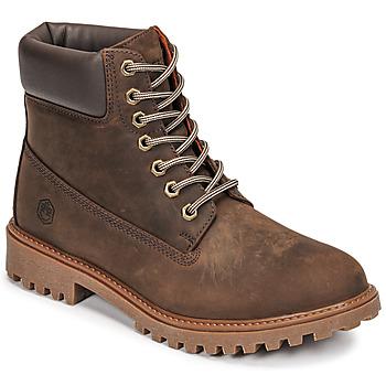 Sapatos Homem Botas baixas Lumberjack RIVER Castanho
