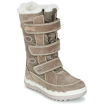 Sapatos Rapariga Botas de neve Primigi FROZEN GTX Bege / Castanho
