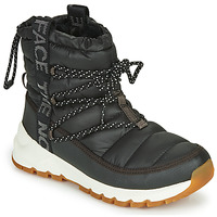 Sapatos Mulher Botas de neve The North Face W THERMOBALL LACE UP Preto / Branco