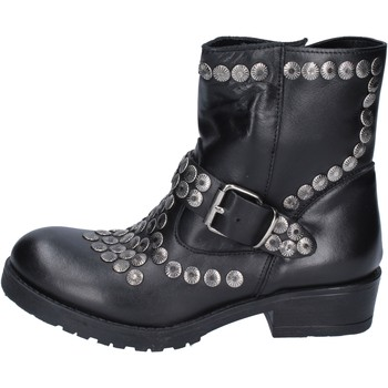 Sapatos Mulher Botins Brawn's Botins BM192 Preto