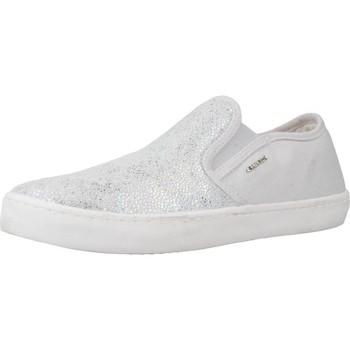 Sapatos Rapariga Slip on Geox J KILWI G.D Cinza