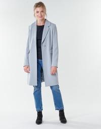 Textil Mulher Casacos Benetton 2AMH5K2R5 Cinza