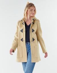 Textil Mulher Casacos Benetton 2BZP53655 Bege