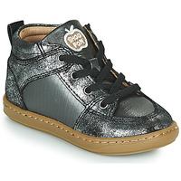 Sapatos Rapariga Sapatilhas de cano-alto Shoo Pom BOUBA GANG Prata