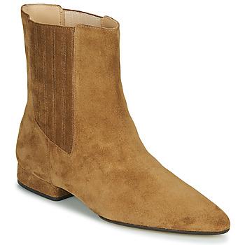 Sapatos Mulher Botas baixas Kenzo K LINE SOFT Camel