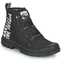 Sapatos Botas baixas Palladium PAMPA HI FUTURE Preto