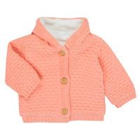 Textil Rapariga Casacos de malha Noukie's Z050003 Rosa