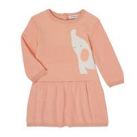 Textil Rapariga Vestidos curtos Noukie's Z050082 Rosa
