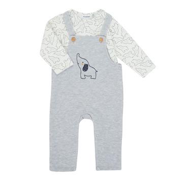 Textil Rapaz Conjunto Noukie's Z050372 Cinza