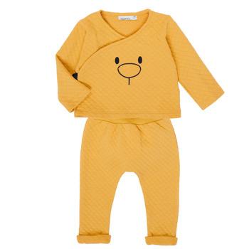 Textil Rapariga Conjunto Noukie's Z050377 Amarelo