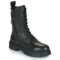 Sapatos Mulher Botas baixas Replay PAMELA STANDING Preto