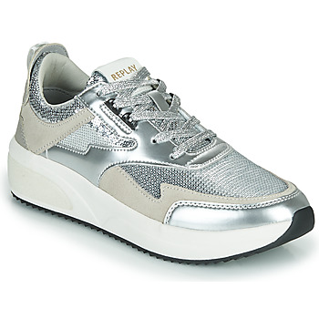 Sapatos Mulher Sapatilhas Replay FLOW CREATION Prateado