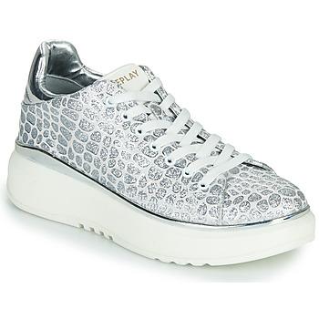 Sapatos Mulher Sapatilhas Replay ULTRA NACHT Branco / Cinza