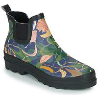 Sapatos Mulher Botas de borracha Sanita FELICIA WELLY Azul