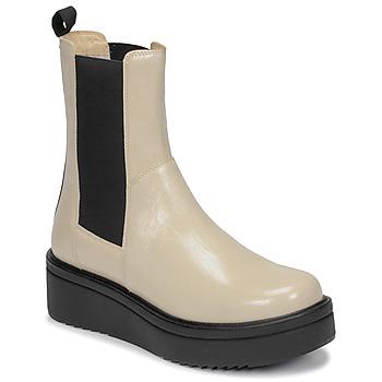 Sapatos Mulher Botas baixas Vagabond TARA Bege