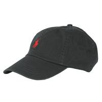 Acessórios Homem Boné Polo Ralph Lauren COTTON CHINO SPORT CAP Preto