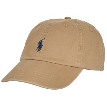 Acessórios Homem Boné Polo Ralph Lauren COTTON CHINO SPORT CAP Bege