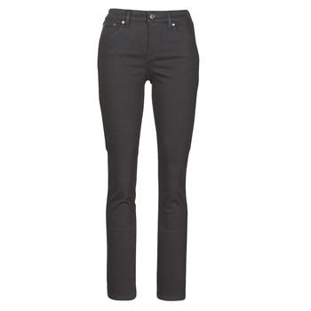 Textil Mulher Calças Jeans Lauren Ralph Lauren PRM STRAIGHT Preto