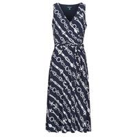 Textil Mulher Vestidos compridos Lauren Ralph Lauren CARANA Marinho