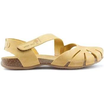 Sapatos Mulher Sandálias Interbios Sandálias  UNIVERSO YELLOW
