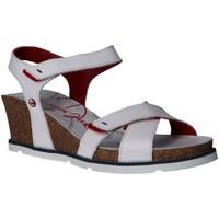 Sapatos Mulher Sandálias Panama Jack VIERI NAVY B3 Blanco