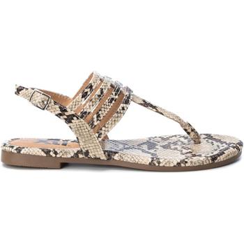 Sapatos Mulher Chinelos Xti 49577 CAMEL Marrón