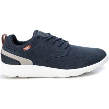 Sapatos Homem Sapatilhas Xti 49663 NAVY Azul marino