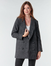 Textil Mulher Casacos Le Temps des Cerises DILAN1 Preto