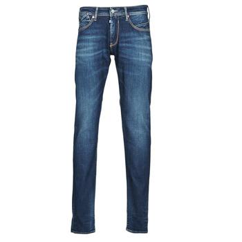 Textil Homem Calças Jeans Le Temps des Cerises 812 BASIC Azul